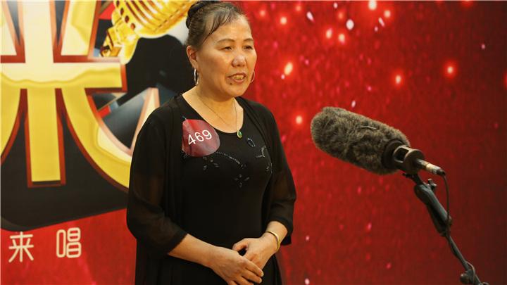 骏丰频谱老爸老妈唱起来:469号选手李平